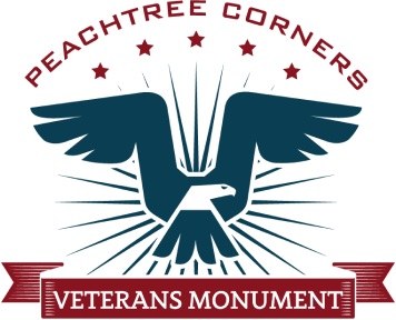 Peachtree Corners Veterans Monument Association, Inc. Logo