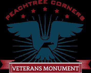 Peachtree Corners Veterans Monument Association, Inc. Logo